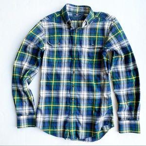 Vineyard Vines Slim Fit Flannel Plaid Shirt